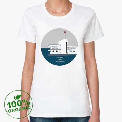 Женская футболка из органик-хлопка DYNAMO