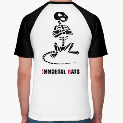 Футболка реглан  Immortal-Rats