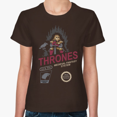 Женская футболка Game of Thrones