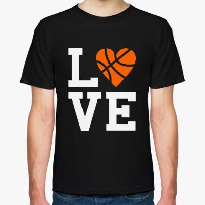 Футболка Люблю баскетбол