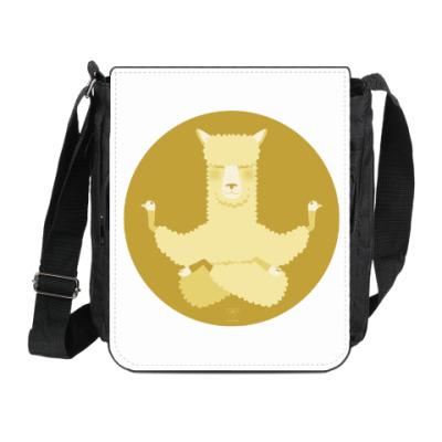 Сумка на плечо (мини-планшет) Animal Zen: A is for Alpaca