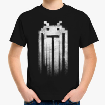 Детская футболка Space Invaders Punisher