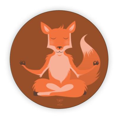 Костер (подставка под кружку) Animal Zen: F is for Fox