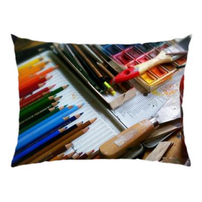 Подушка Набор художника