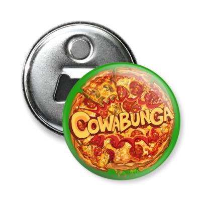 Магнит-открывашка Pizza Cowabunga! Пицца Микеланджело