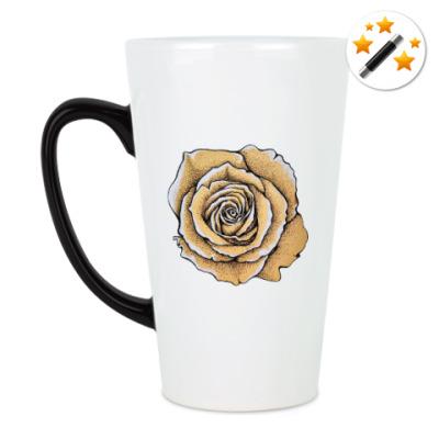 Кружка-хамелеон Роза