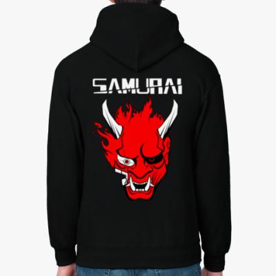 Толстовка худи Samurai Cyberpunk 2077