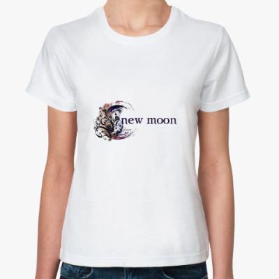Классическая футболка New moon