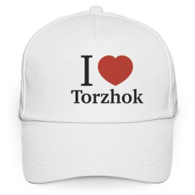 Кепка бейсболка Я люблю Торжок