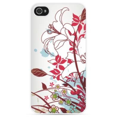 Чехол для iPhone Весенние цветы