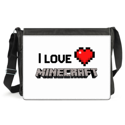 Сумка I love minecraft