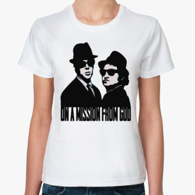 Классическая футболка Братья Блюз