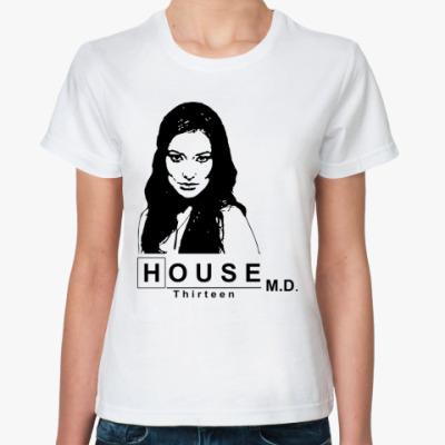 Классическая футболка House m.d. Thirteen
