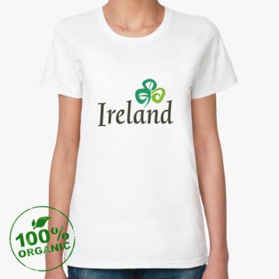 Женская футболка из органик-хлопка  органик (женская)