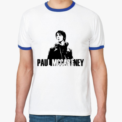 Футболка Ringer-T Paul Mccartney