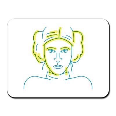Коврик для мыши Star Wars. Leia / Лея