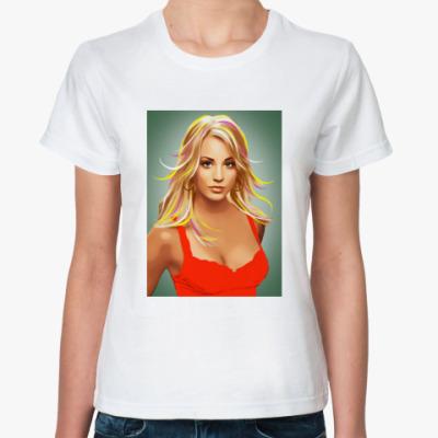 Классическая футболка Big bang theory