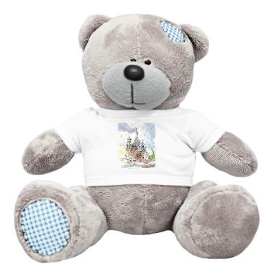 Плюшевый мишка Тедди Собор Спас на Крови. Питер