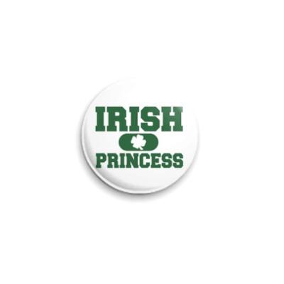 Значок 25мм  'Ирландская принцесса'