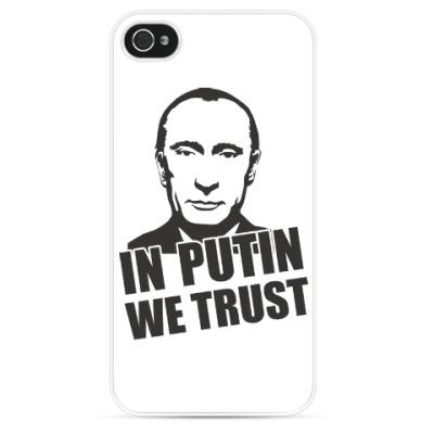 Чехол для iPhone Мы верим в Путина