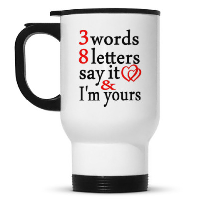 Кружка-термос 3 Words 8 Letters