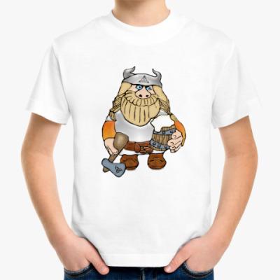 Детская футболка Викинг