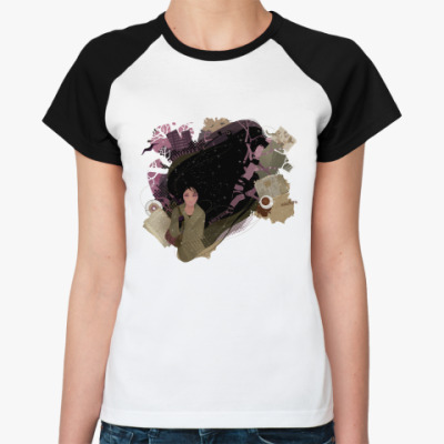 Женская футболка реглан  Autumn