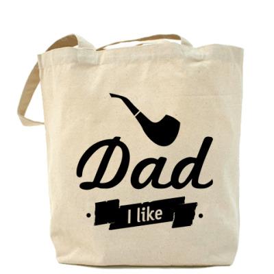 "Сумка ""Dad I like"""