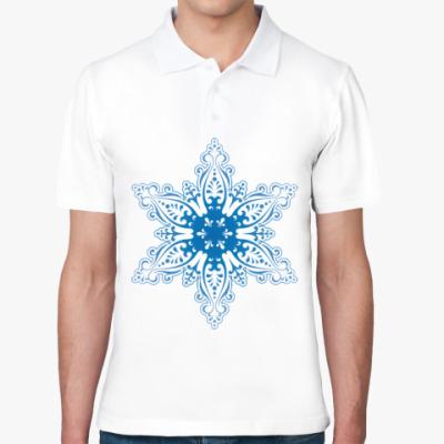 Рубашка поло Снежиночка