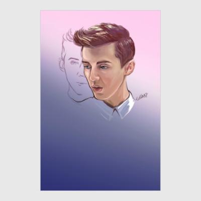 Постер Troye Sivan from My happy little pill