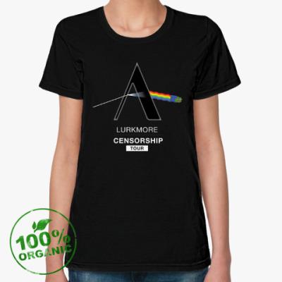 Женская футболка из органик-хлопка Цензурный тур 2016