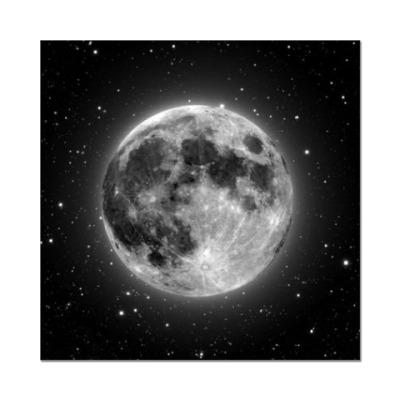 Наклейка (стикер) Обсидиановая луна