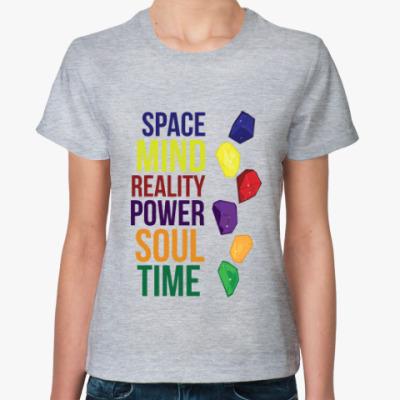 Женская футболка Камни Бесконечности