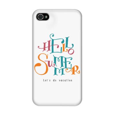 Чехол для iPhone 4/4s Привет, лето!