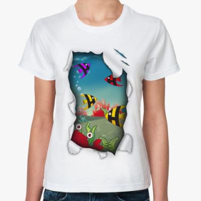 Классическая футболка Аквариум