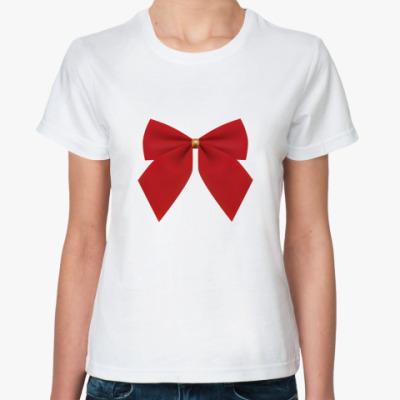 Классическая футболка   Бант