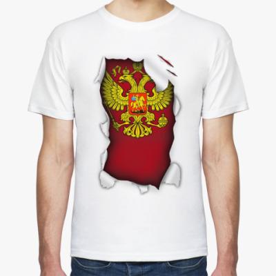 Футболка 'Герб России'