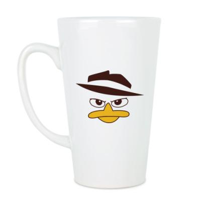 Чашка Латте Перри-Утконос