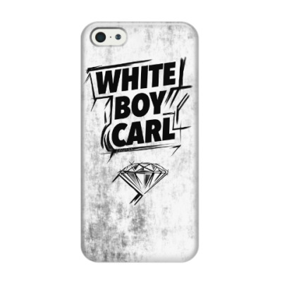 Чехол для iPhone 5/5s WHITE BOY CARL. Shameless