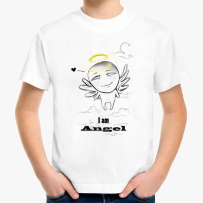 Детская футболка 'I am angel'