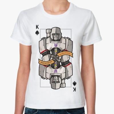 Классическая футболка Мегатрон