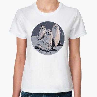Классическая футболка Тюленики