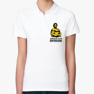 Женская рубашка поло Arnold - Bodybuilding