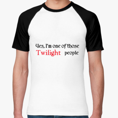 Футболка реглан  Twilight people