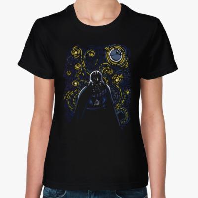 Женская футболка дарт вейдер ан Гог