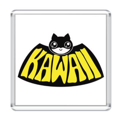 Магнит Kawaii Batman