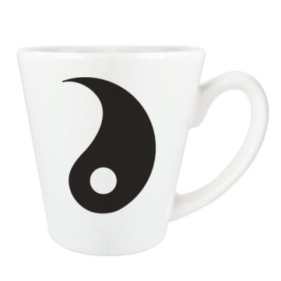 Чашка Латте Инь.