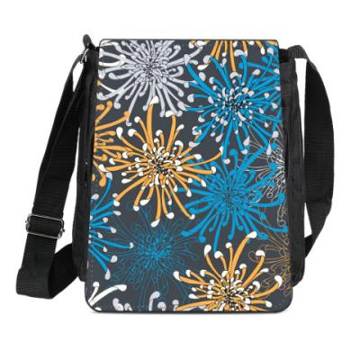 Сумка-планшет Цветы