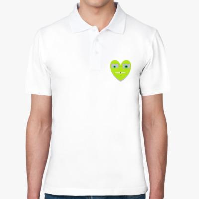 Рубашка поло Funny heart