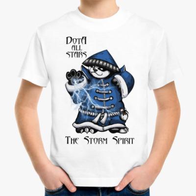 Детская футболка The Storm Spirit